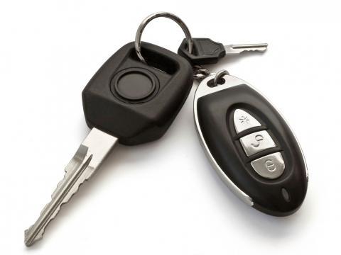 Autoschlüssel neues Auto konfigurieren