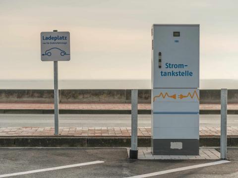Elektroauto Ladestation Auto Till