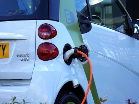 Elektro-Auto Auto Till Laden