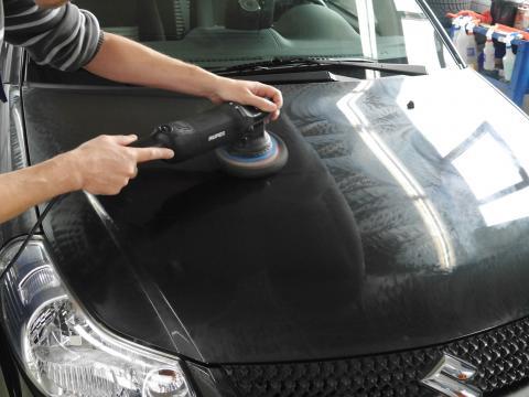 Lackaufbereitung Autoaufbereitung Muenchen Suzuki