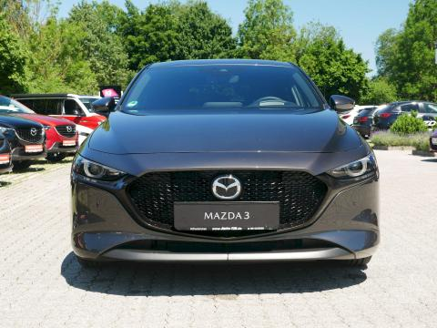 Mazda3 2019 Selection Matrixgrau Metallic Front Kühlergrill