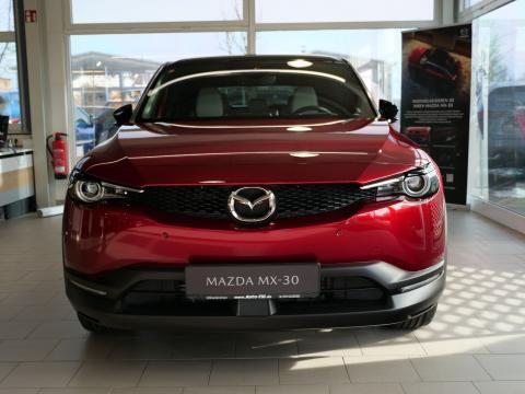 Mazda MX-30 Magmarot Metallic Auto Till