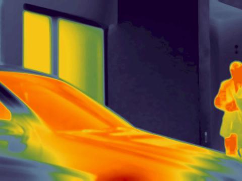 Webasto Standheizung Wärmebild Auto