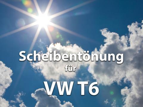 Scheibentoenung Vw T6 Sonnenschutz Folie