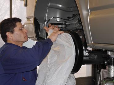Autorostschutz Muenchen Vw T5 Bremsen 03