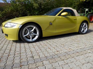 BMW Z4 Unterbodenschutz Bayern München