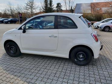 Fiat 500 Anhängerkupplung nachrüsten München Seitenansicht