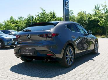 Mazda3 2019 Selection Matrixgrau Metallic Heck