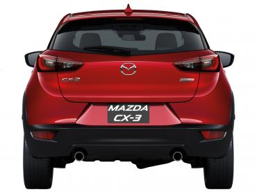 Mazda CX-3 Muenchen bei Auto Till - Heck