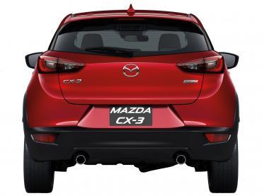 Mazda CX-3 Muenchen bei Auto Till - Heck