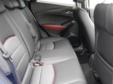 Mazda Cx 3 Muenchen Fahrgastraum Hinten Auto Till