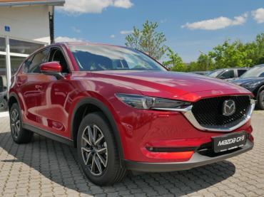 Mazda CX-5 2017 Magmarot Front