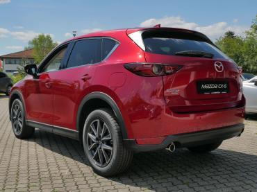 Mazda CX-5 2017 Magmarot Heck