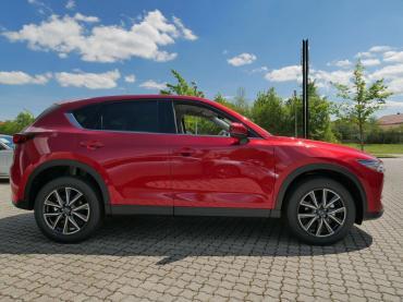 Mazda CX-5 2017 Magmarot Seitenansicht