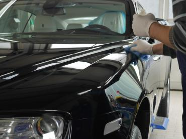 Nano Lackversiegelung Nanoversiegelung Muenchen Rolls Royce Verarbeitung Auto Till 01