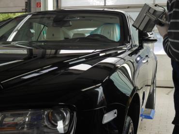 Nano Lackversiegelung Nanoversiegelung Muenchen Rolls Royce Verarbeitung Auto Till 02
