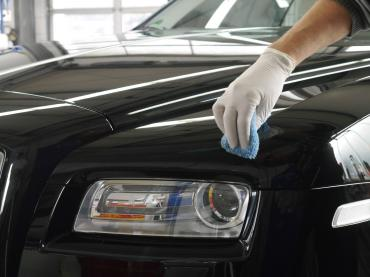 Nano Lackversiegelung Nanoversiegelung Muenchen Rolls Royce Verarbeitung Auto Till 09