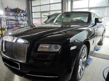 Nanoversiegelung Muenchen Rolls Royce Verarbeitung 08