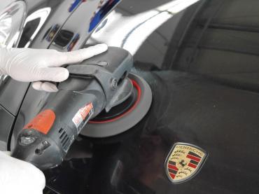 Polieren Lackaufbereitung Muenchen Porsche 05