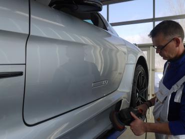 Polieren Muenchen Mercedes Sls 03