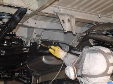 Unterbodenschutz Muenchen Verarbeitung Fluid Film 08