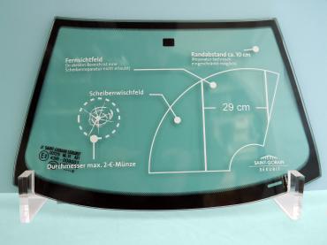 Vorschriften Glasscheibe Reparieren