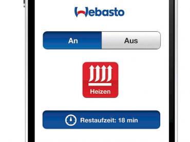 Webasto Standheizung App Smartphone