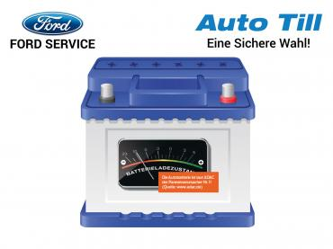 Ford Service Muenchen Batterie Check