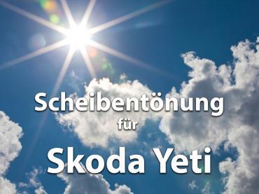 Scheibentoenung Skoda Yeti Sonnenschutz Folie
