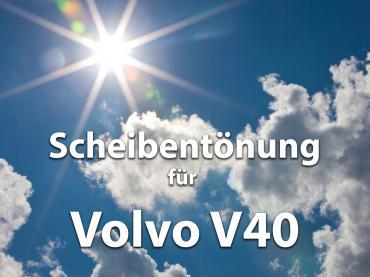 Scheibentoenung Volvo V40 Sonnenschutz Folie