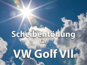 Scheibentoenung Vw Golf 7 Sonnenschutz Folie